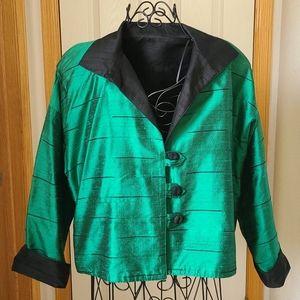 Vintage Reversable Silk Jacket